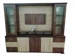 Wall Mounted Designer Wooden TV Cabinet