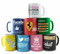 Coffee Mug Printing Service, in Local, For Promotion