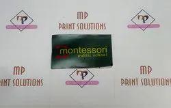 Printed Cloth School Badge