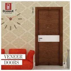 Dormak Brown DK-127 Veneer Door For Home