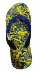 Ladies Blue Stripe EVA Slipper
