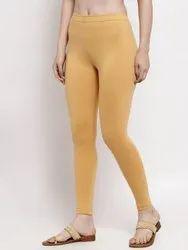 Slim Fit Ready To Wear Ankle Length Plain Legging, Size: XL.XXL