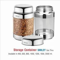 Storage Containers- Smiley