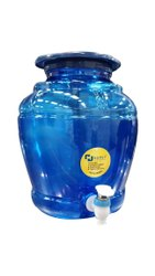 Plastic Blue Water Dispenser Jar