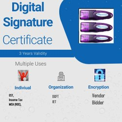 Digital Signature Certificate, Authentication, 1