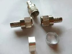 Rg6 F5 Connector, Contact Material: Brass, Female
