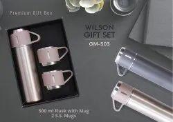 Flask with Mug