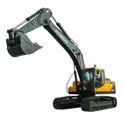 现代230LM智能加上采矿挖掘机