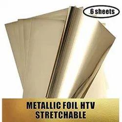 Metallic Gold Foil Heat Transfer Film