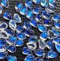 100% Natural Blue Moonstone Cabochon, Handmade Gemstone, Moonstone Gemstone Making For Jewellery