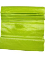 Parrot Green Pure Tussar Silk Fabric