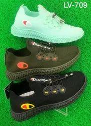Mens Canvas EVA Casual Shoes, Size: 40