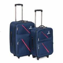 LeeRooy 2 Trolley Bag 3 Blue, 1 Set, Size: 20