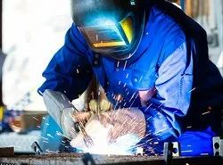 Pitrukrupa Engineering Welding and fabrication service, For Industrial