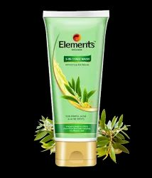 Vitamin E And Tea Tree Elements 3 In 1 Face Wash, For Pimple, Acne And Acne Spots, Packaging Size: 60 G