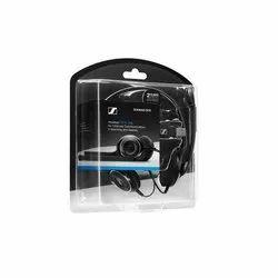 Wired Black Sennheiser PC 8 Over-Ear USB VOIP Headphone, Weight: 84 G