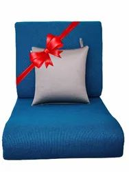 Flexi Comfort Seat Size Of 21X22/3/24 In And Backrest Of Size 21x18 In + Blissco Back Support