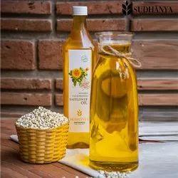 natural Wooden Cold Pressed Safflower Oil