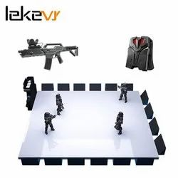Shooting Game Machine 9D VR Simulator With VR Backpack