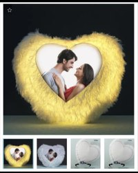 Led Heart Cushion