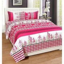 Pink and White Incense Album Bedsheet Set