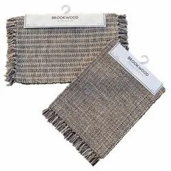 Cotton Handwoven Dining Mats, Size: 14 X 72 Inch