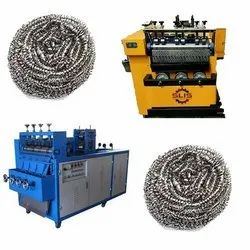 Fully Automatic Steel Wire Scrubber Making Machine