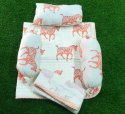 Hand Block Printed Baby Bedding Sets