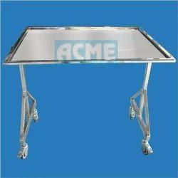 ACME 1052 Mayo Trolley Over OT Table