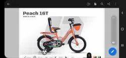 Orange Avon Peach 16 Inch Kids Bicycle