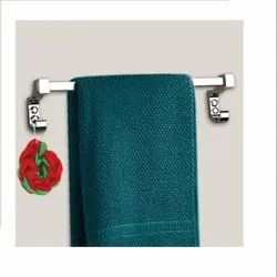 Stainless Steel 202 Towel Hanger, For Home, Size: 24