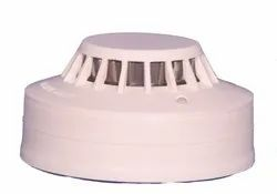 Electric Optical White Smoke Detector, Size: 6 Inch