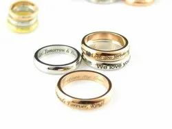 Personalized Ring Custom Name Ring
