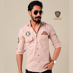 Rajanyas Cotton Stretchable, Rajputana Shirt