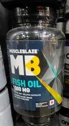 Muscle Blaze Mb Fish Oil, Packaging Size: 90tablets