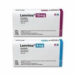 Lenvima (lenvatinib 4mg,10mg), Eisai Co. Ltd, 20 Capsule