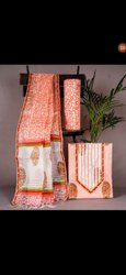 Hand Block Printed Cotton Fabric Suit