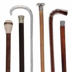 Wooden and Metal Walking Sticks
