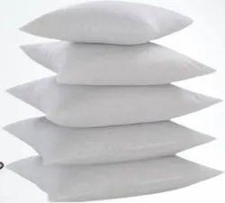 RelaxRight Micro Cloth White Pillow Cushion