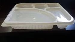 SGPP 5 CP Meal Trays with Lid