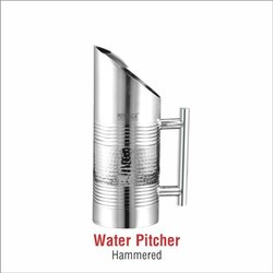 Water Pitcher - Hammered