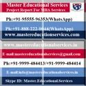 MBA Final Year Dissertation Report Service Provider In India