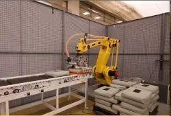 Fluxlink Mild Steel Palletizing Robotic System, For Assembly, Computerized