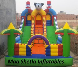Micky Mouse Bouncy With Welcome Gate