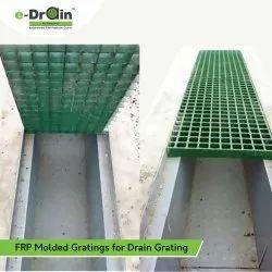 FRP Molded Grating For Drain Grating