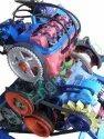 Motor Car Engine Petrol Actual Cut Sections