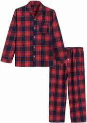 Multicolor Lounge Wear Mens Pyjama