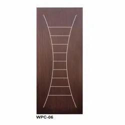 WPC06 Wood Design Door, For Home