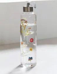 Designer Borosilicate Glass Bottle