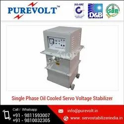 Single Phase Oil Cooled Servo Stabilizer